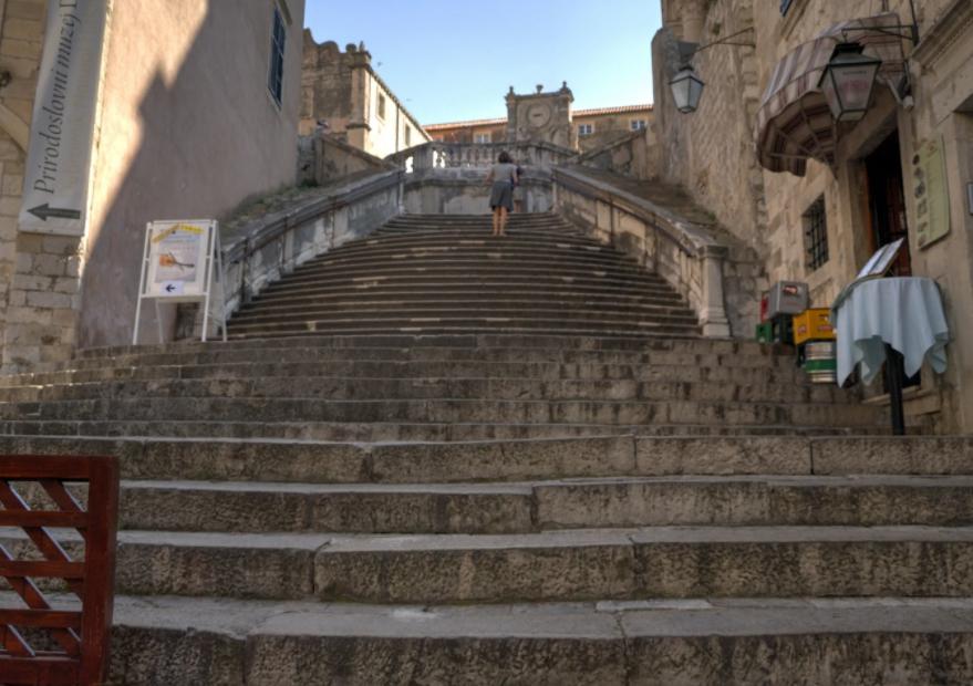 лестница иезуитов дубровник