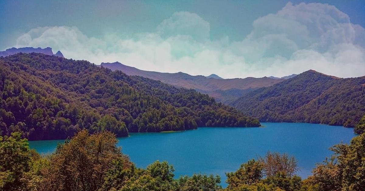 Озеро Гейгель Азербайджан