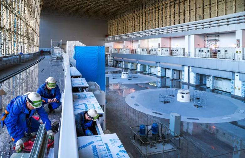 Саяно-Шушенская ГЭС восстановление