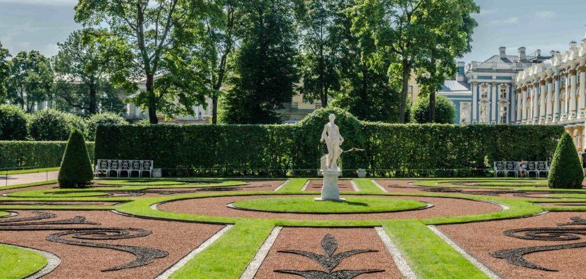 Екатерининский сад в городе Пушкин 1