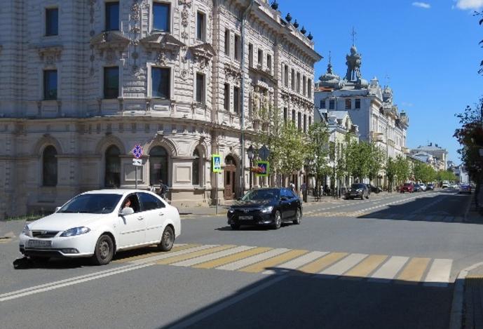Ул. Кремлевская, Казань