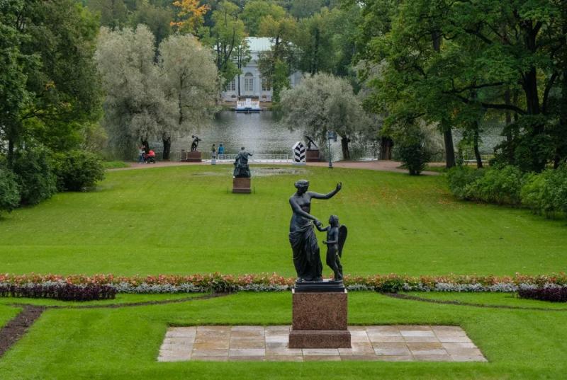 Екатерининский парк Царское село