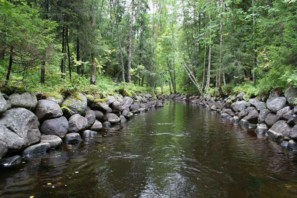 Озёра и каналы на Соловецких островах