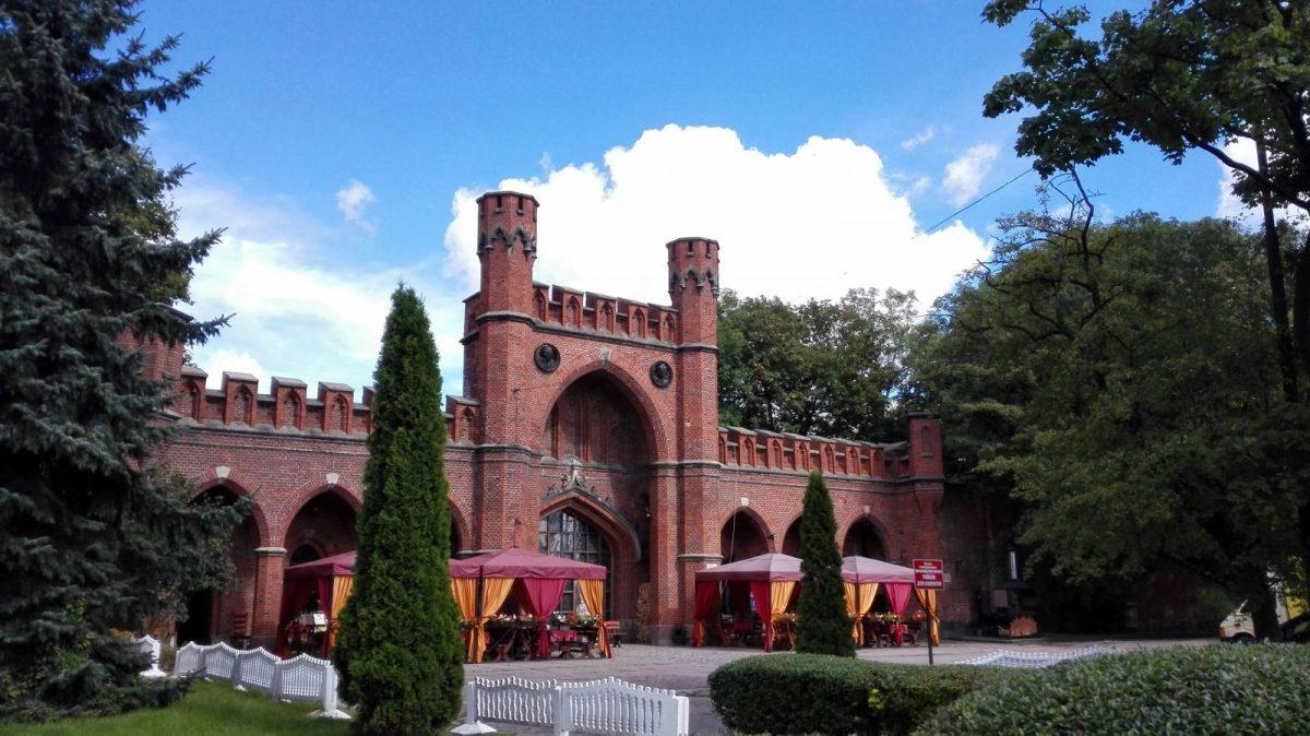 Росгартенские ворота Калининград