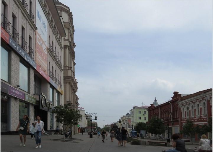 Продолжаем пешую прогулку по ул. Ленинградкой
