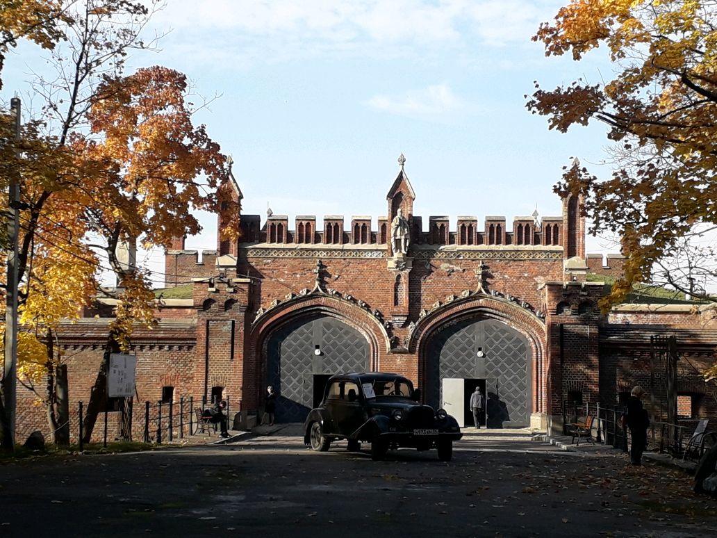 Крепость Фридландские ворота Калининград
