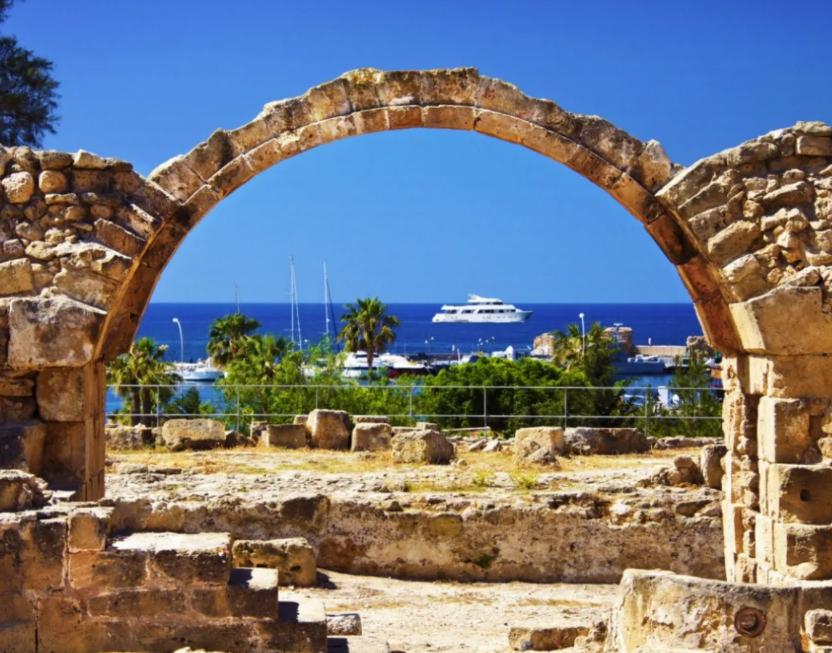 Остров Пафос, Кипр