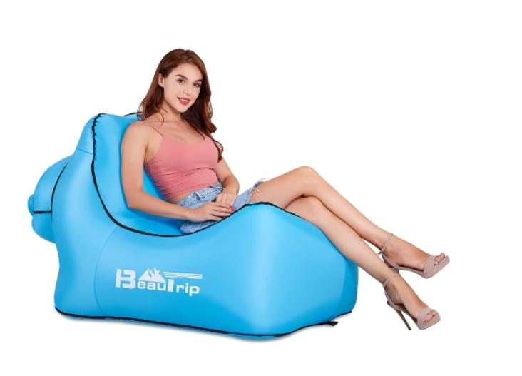 Надувное кресло для кемпинга