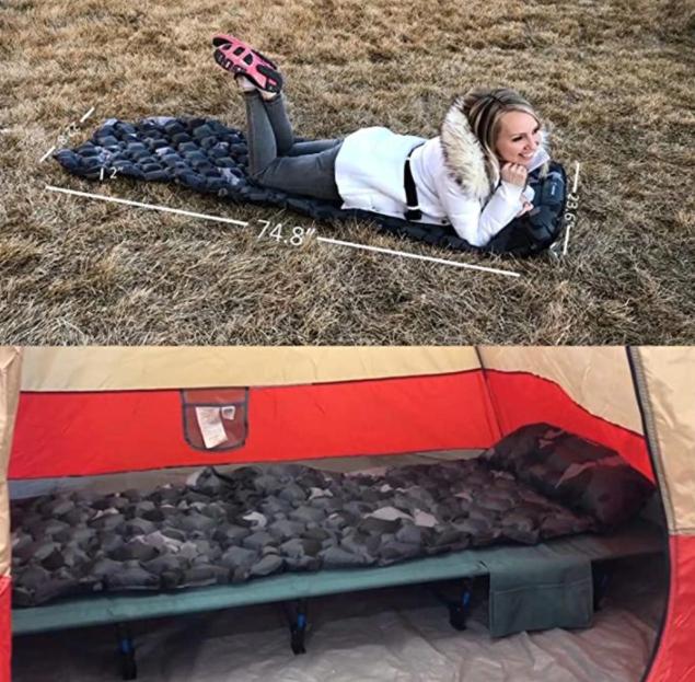Инновационный коврик для сна Hitorhike