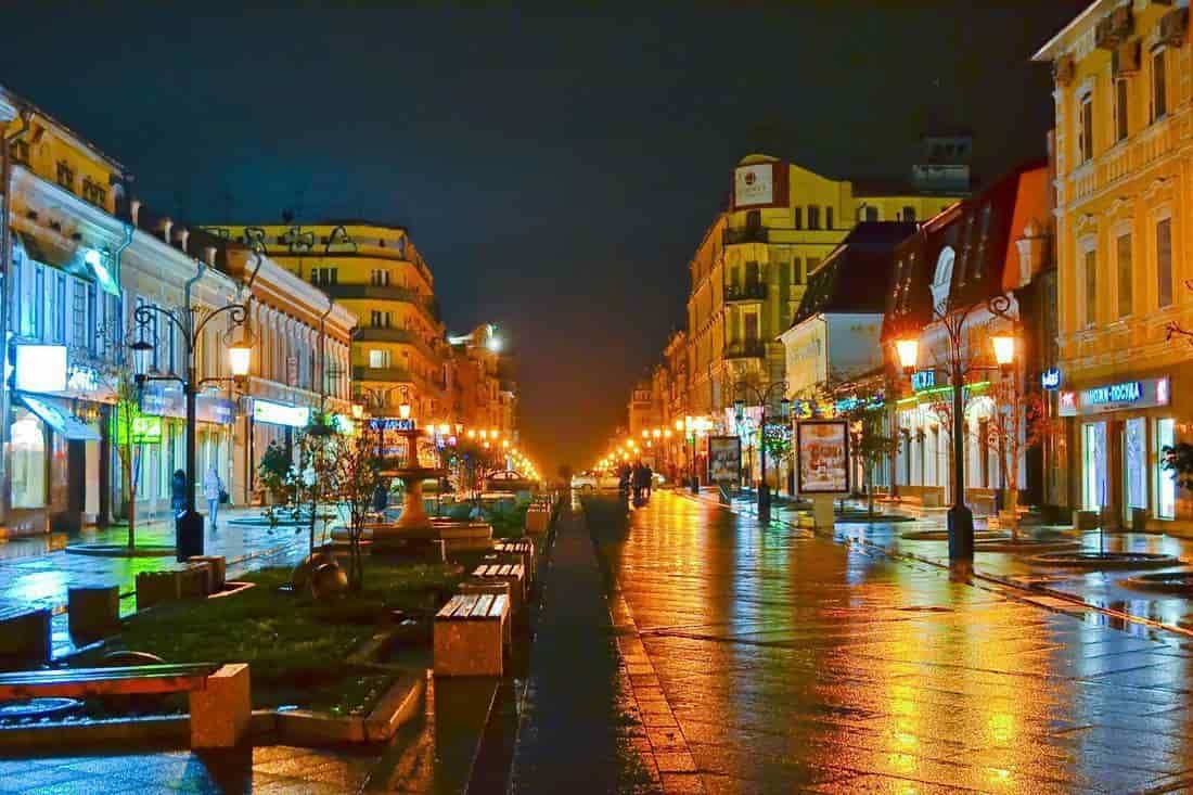 Ленинградская улица Самары сегодня