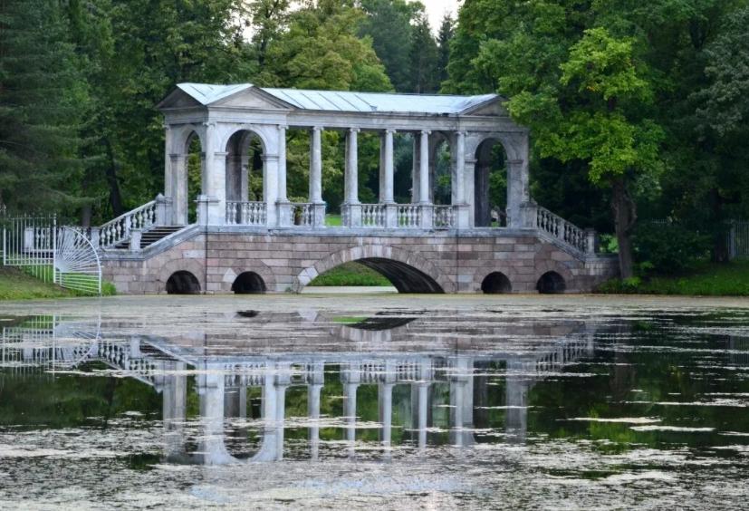 мраморный мост в царском селе
