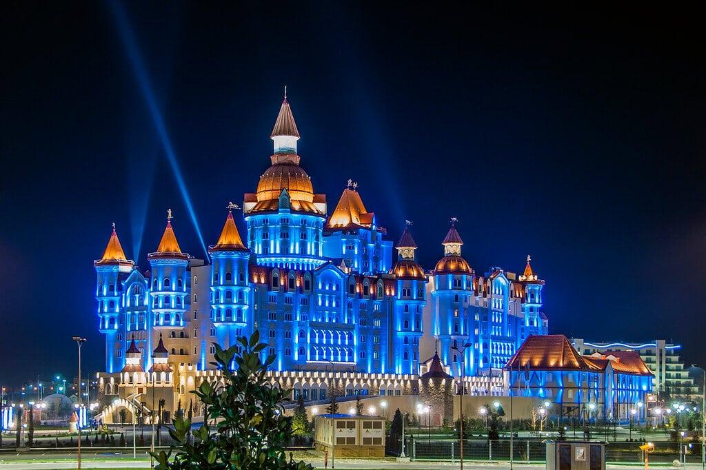 отель богатырь адлер