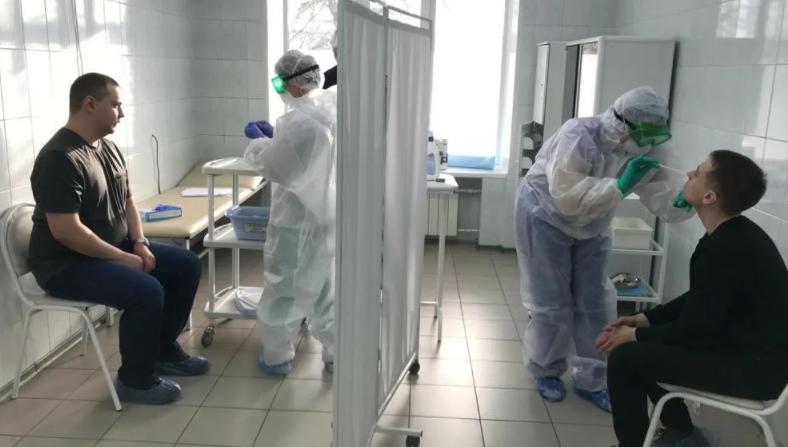 Экспресс-тестирование на коронавирус, взятие  ПЦР-теста