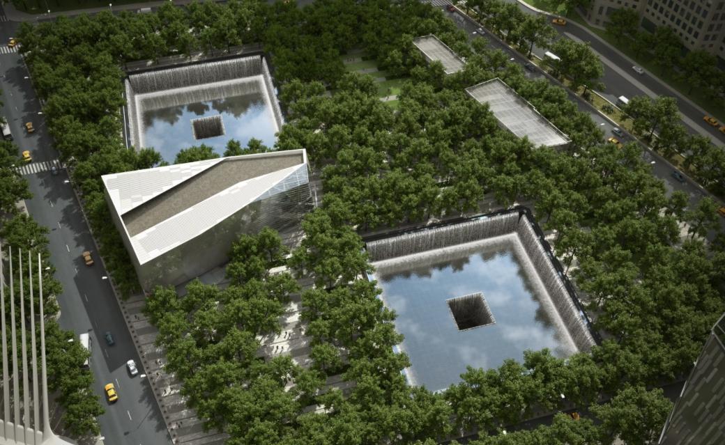 Парк и музей мемориал 9/11